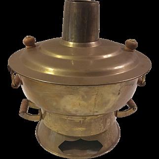 Asian Korean Brass Steamer Cooker Warmer