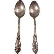 1901 Reed & Barton Tiger Lilly Tablespoons