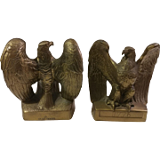 Philadelphia Manufacturing Company Brass Eagle Bookends
