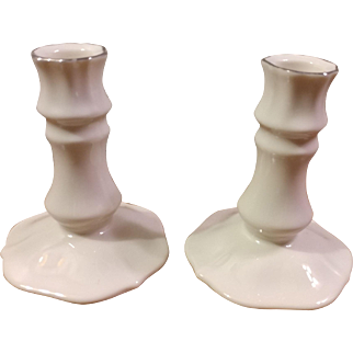 Pair of LENOX Special Candleholders