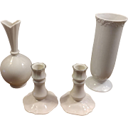 Lenox Candleholders and Vase