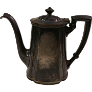 Reed & Barton Silver Soldered Teapot