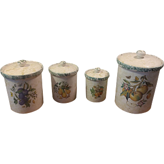 Himark Made in Italy Set of 4 Canisters