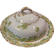 Haviland Limoges France 3 Piece Butter Dish