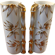 Made in Japan Gold China Bamboo Vase