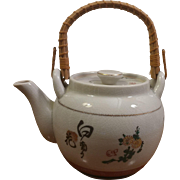 Japanese Ceramic Painted Teapot