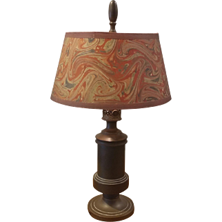 Bronze Tone Brass Desk Lamp