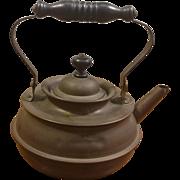 S. Sternau & Co. Copper Plated Teapot Kettle