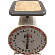 Vintage Hanson Model 2000 Kitchen Scale