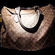 Vintage Louis Vuitton Monogram Speedy Tote Bag - Fusain Chocolate Brown - Used - Good for More Use