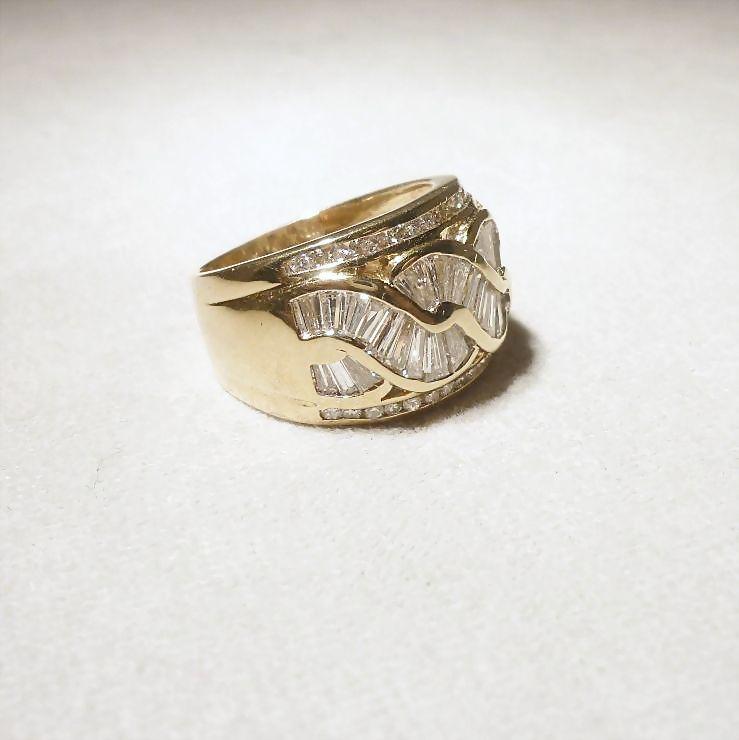 Kt Vintage  S Gold Dome Ring
