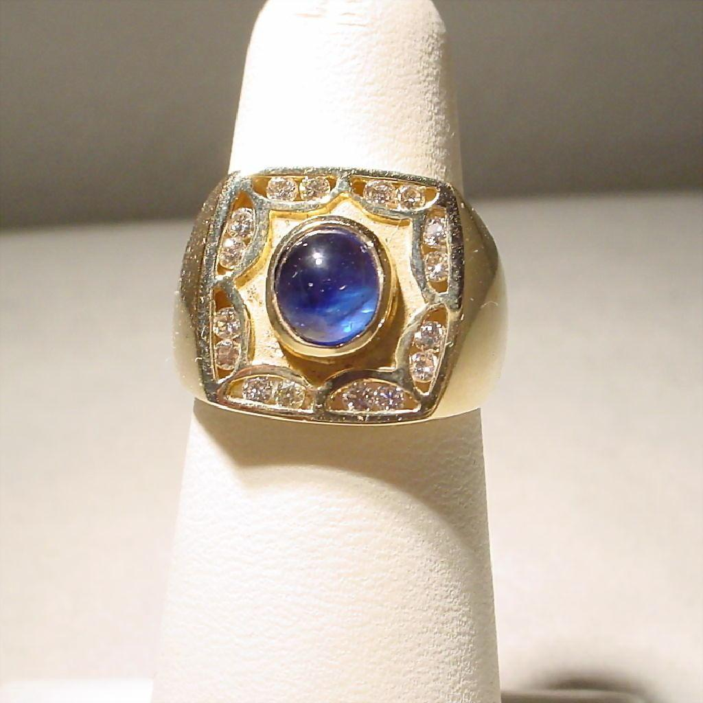 Kt Star Sapphire Men S Ring