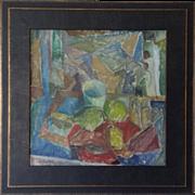 Cubist Still Life by Göta Fogler (1919-1992)