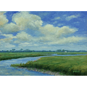 Florida Marsh Scene by Bryan Roberts (American, contemporary)