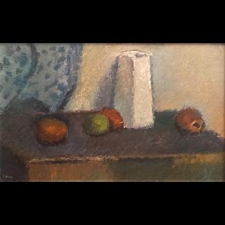 Mid-century Modern Still Life by Sven Ingvar Wiede (1921-?)
