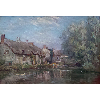 Wonderful Dorset Scene by Fredrick Whitehead (1853-1938)