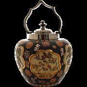 Antique, Japanese Export Ware Biscuit Barrel