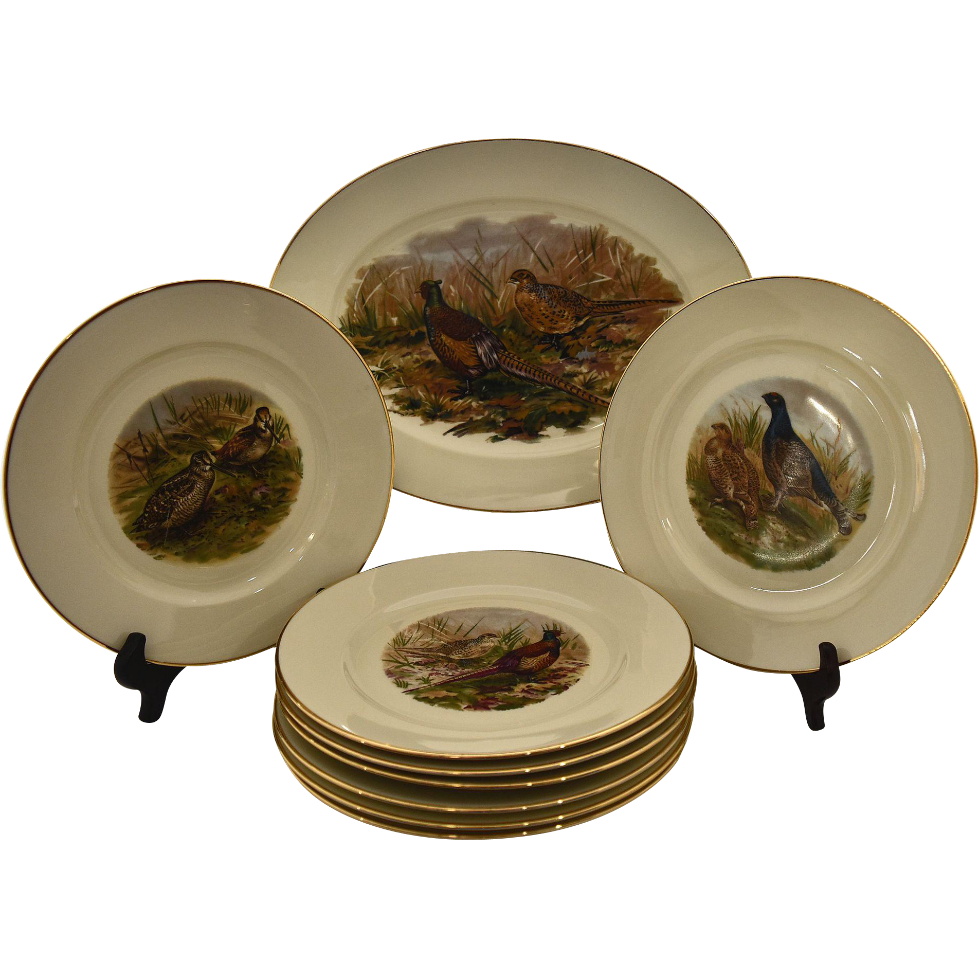 Vintage Bird Plates 30