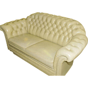 English Chesterfield Style Tufted Sofa and Arm Chair SPECIAL PRICING