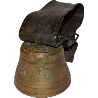 Large Swiss Cow Bell by Alb Gusset Uetendorf