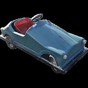 Pedal Car Vintage European SPECIAL Large Fiber Glass Model Chain Driven