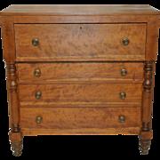 Antique Cherry Empire Butlers Desk / Dresser 19th Century