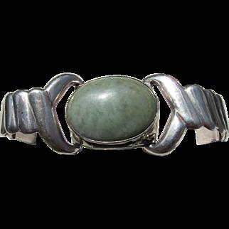 Antique Art Deco Sterling Silver Mexican Poison Bracelet    C.1910