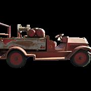 Nice Original Old Sturditoy Fire Truck           C.1920's
