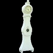 Antique Swedish Gustavian Mora Long Case Clock