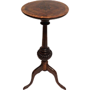 19th-Century Georgian Mahogany Wine Table / Candlestand