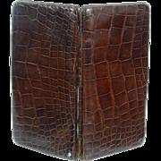 Crocodile Skin Card Case