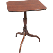 Antique English Mahogany Tilt-Top Table