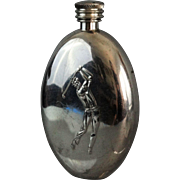 Figural Novelty Golf Liquor Flask