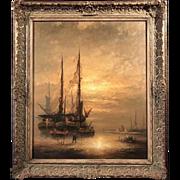 Dutch Marine Seascape, Gerard Nijland