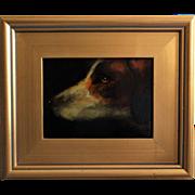 Sporting Dog Oil Portrait Terrier Hound Bird Dog Retriever