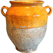 Antique French Confit Pot Jar