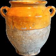 Antique French Confit Pot Jar