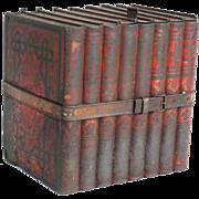 Antique Huntley Palmer 'Books' Tin, England