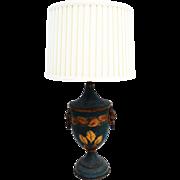 Italian Urn Table Lamp & Shade