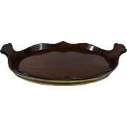 Antique Mahogany Butler's Tray