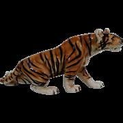 Mid Century Bengal Tiger Figurine