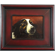 Sporting Dog Oil Painting, English