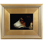Sporting Dog Portrait Oil Painting, England