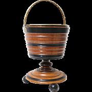 19th-C Urn on Pedestal Wine Cooler / Jardiniere