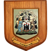Edinburgh Crest Wall Plaque