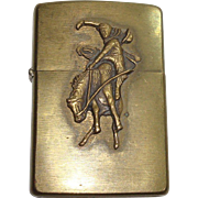 Zippo Marlboro Country Bucking Horse and Rider Lighter