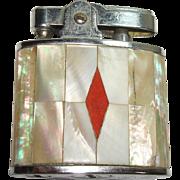 Vintage Abalone Shell Lighter