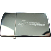 Zippo Slim Leaseway Transportation Lighter