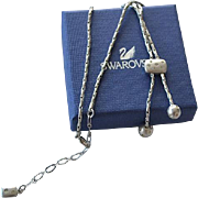 Vintage Swarovski necklace with tassels