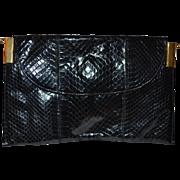 Snake handbag LEDER LOCHER of Switzerland